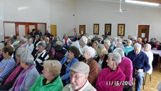 The residents of Louis Dubb enjoyed the entertainment .